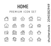 premium pack of home line icons....