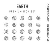 premium pack of earth line...