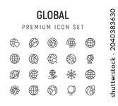 premium pack of global line...