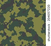 olive seamless camo texture | Shutterstock . vector #204057220