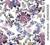 Watercolor  Blot  Pattern