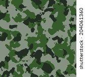 tundra seamless camo texture...   Shutterstock .eps vector #204061360