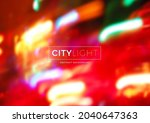 multicolored abstract blurred... | Shutterstock .eps vector #2040647363