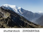Mont Blanc Massif Covered With...