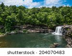 Waterfall at Little River Canyon National Preserve in northern Alabama