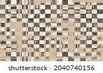 vector seamless decorative...   Shutterstock .eps vector #2040740156