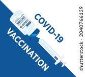 covid 19 vaccine  coronavirus...   Shutterstock .eps vector #2040766139