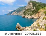 Coastal Landscape With Blue Se...