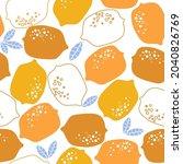 abstract contemporary seamless...   Shutterstock .eps vector #2040826769