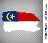 flag malacca brush strokes....