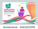 website home page  with cool...