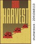 good harvest  retro style... | Shutterstock .eps vector #2041068113