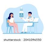 consultation doctor holistic...   Shutterstock .eps vector #2041096550