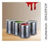 interior paint creative... | Shutterstock .eps vector #2041259129