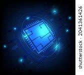 ai. circuit board. technology...   Shutterstock .eps vector #2041361426
