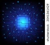 ai. circuit board. technology...   Shutterstock .eps vector #2041361429