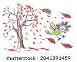happy smiling crazy fantastic... | Shutterstock .eps vector #2041391459