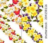 abstract elegance seamless... | Shutterstock .eps vector #204158116