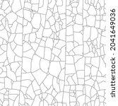 aged peeling glued film. broken ... | Shutterstock .eps vector #2041649036