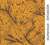 background  unusual seamless... | Shutterstock . vector #204166204