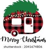 merry christmas vector...   Shutterstock .eps vector #2041674806