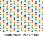 seamless abstract pattern... | Shutterstock .eps vector #204174100