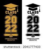 lettering class of 2022 for...   Shutterstock .eps vector #2041777433