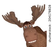 Cartoon Moose