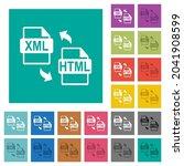 xml html file conversion multi... | Shutterstock .eps vector #2041908599