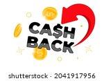 cashback loyalty program banner ...   Shutterstock .eps vector #2041917956
