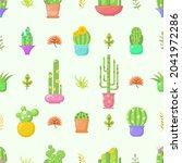 seamless pattern abstract... | Shutterstock .eps vector #2041972286