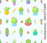 seamless pattern abstract... | Shutterstock .eps vector #2041972289