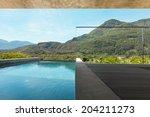 house  interior  modern... | Shutterstock . vector #204211273