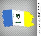 flag penang brush strokes. flag ...
