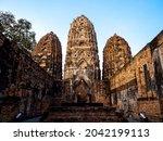 Wat Sri Savaya Temple In The...