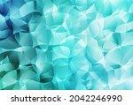 Light Green Vector Polygonal...
