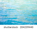 abstract blue water sea for... | Shutterstock . vector #204239440