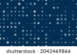 seamless background pattern of... | Shutterstock .eps vector #2042469866