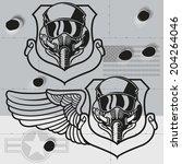 Fighter Jet Crest