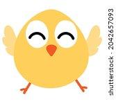 vector chicken poultry clip art ...   Shutterstock .eps vector #2042657093
