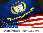 Flag Of The Bureau Of Alcohol...