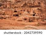 simple dwelling ruins   cave... | Shutterstock . vector #2042739590