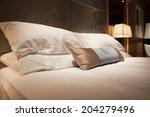 hotel room | Shutterstock . vector #204279496