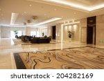 modern lobby | Shutterstock . vector #204282169