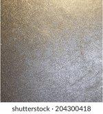 abstract silver metallic... | Shutterstock . vector #204300418