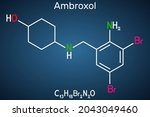 ambroxol mucoactive drug... | Shutterstock .eps vector #2043049460