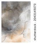 creative minimalist modern line ... | Shutterstock .eps vector #2043145073
