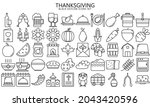 thanksgiving day outline vector ...