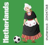Netherlands As A Girl In...