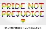 """""""pride not prejudice"""" phrase...   Shutterstock .eps vector #204361594"""